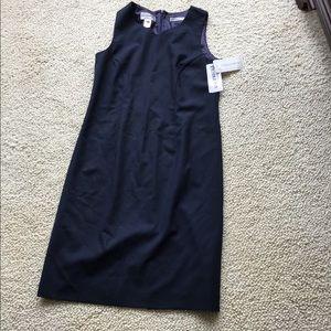 Black/Navy Blue Dress